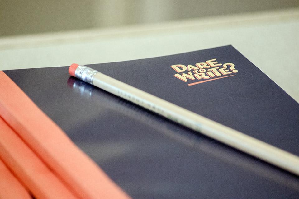 Dare to Write? notepad